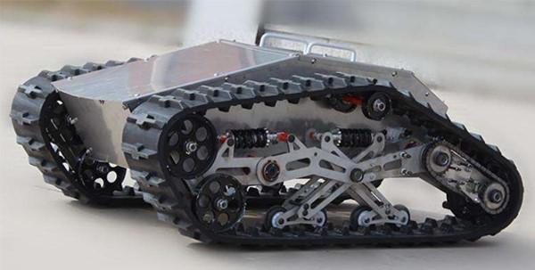 履带式机器人底盘结构