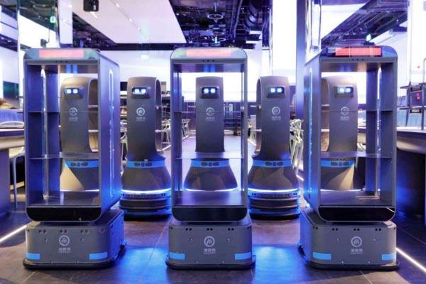 国产激光雷达应用于服务机器人中