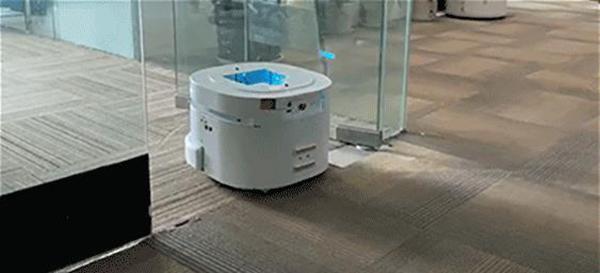 超声波传感器可让机器人感知透明物体